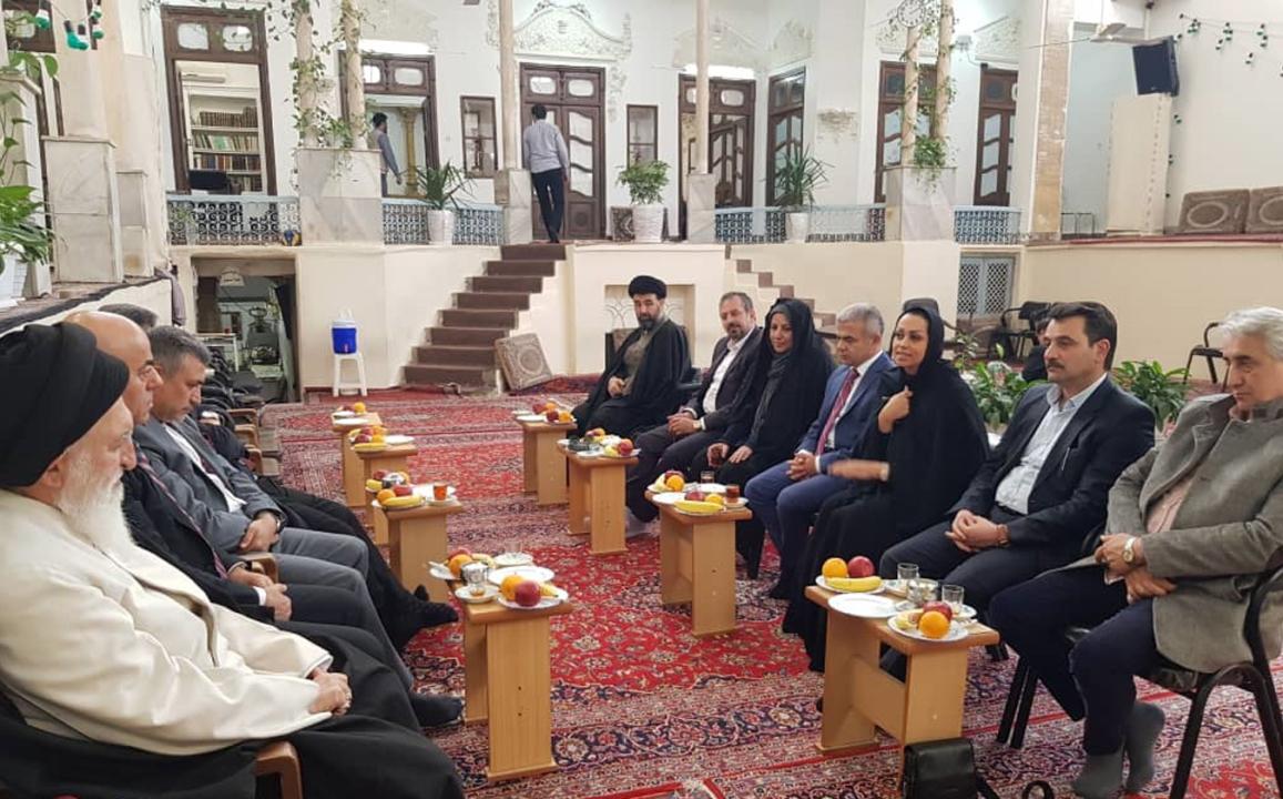 جلسه هلدینگ سرمایهگذاری دوعان ترکیه با آیتالله علوی بروجردی