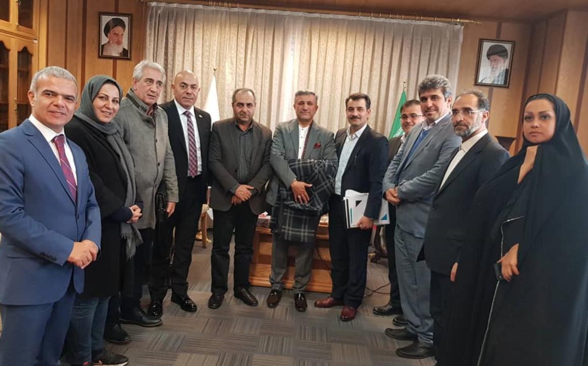 جلسه هلدینگ سرمایهگذاری دوعان ترکیه با استاندار قم